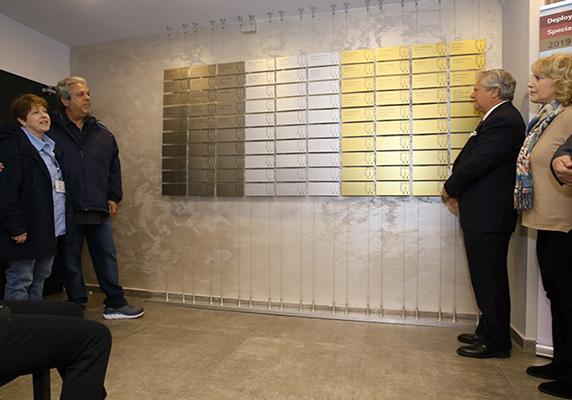 Memorial Wall, specialinuniform