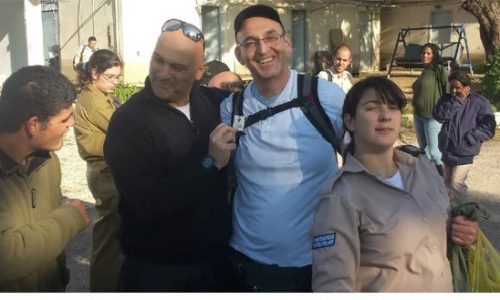 ISRAELI DEFENSE FORCE TAKES SPECIAL CARE OF DISABLED
