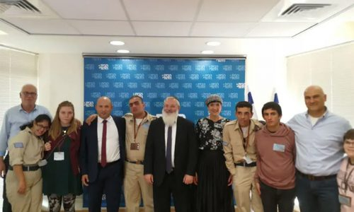 DEPUTY DEFENSE MINISTER VOWS TO CUT RED TAPE FOR DISABLED YOUTH TO JOIN THE IDF